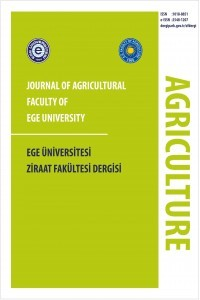 Journal of Agriculture Faculty of Ege University