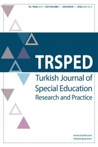 Turkish Journal of Special Education Research and Practice