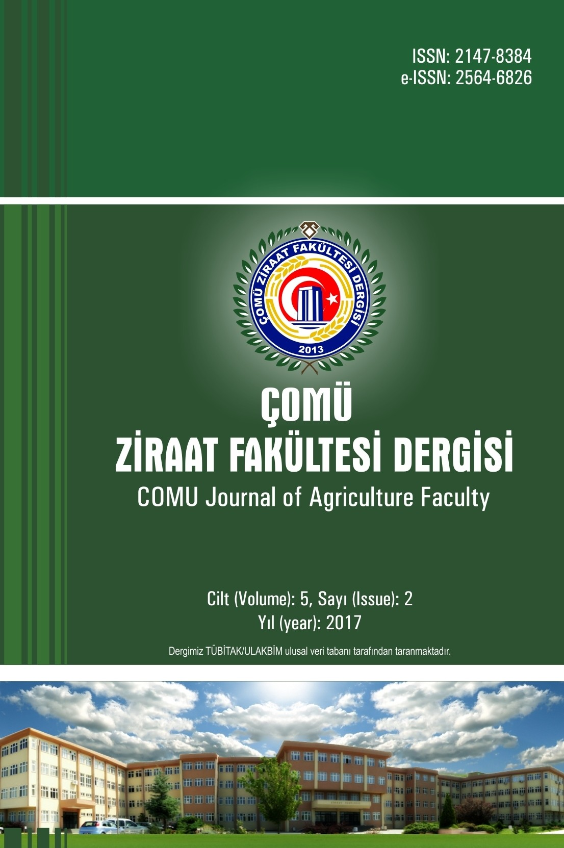 COMU Journal of Agriculture Faculty