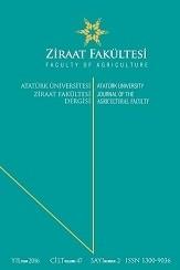 Atatürk Üniversitesi Ziraat Fakültesi Dergisi