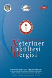 Ankara Üniversitesi Veteriner Fakültesi Dergisi