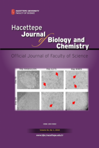 Hacettepe Journal of Biology and Chemistry