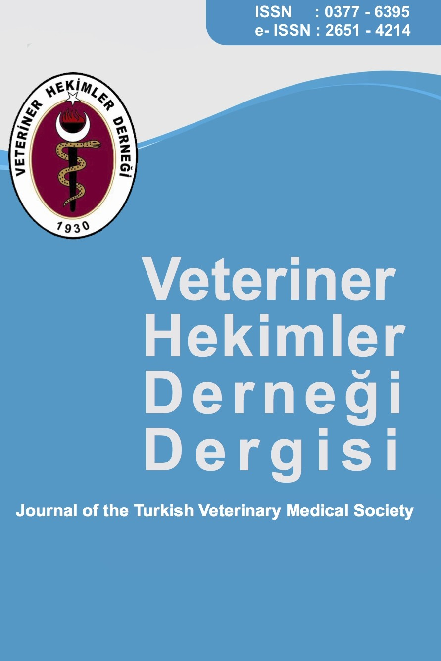 Journal of Turkish Veterinary Medical Society