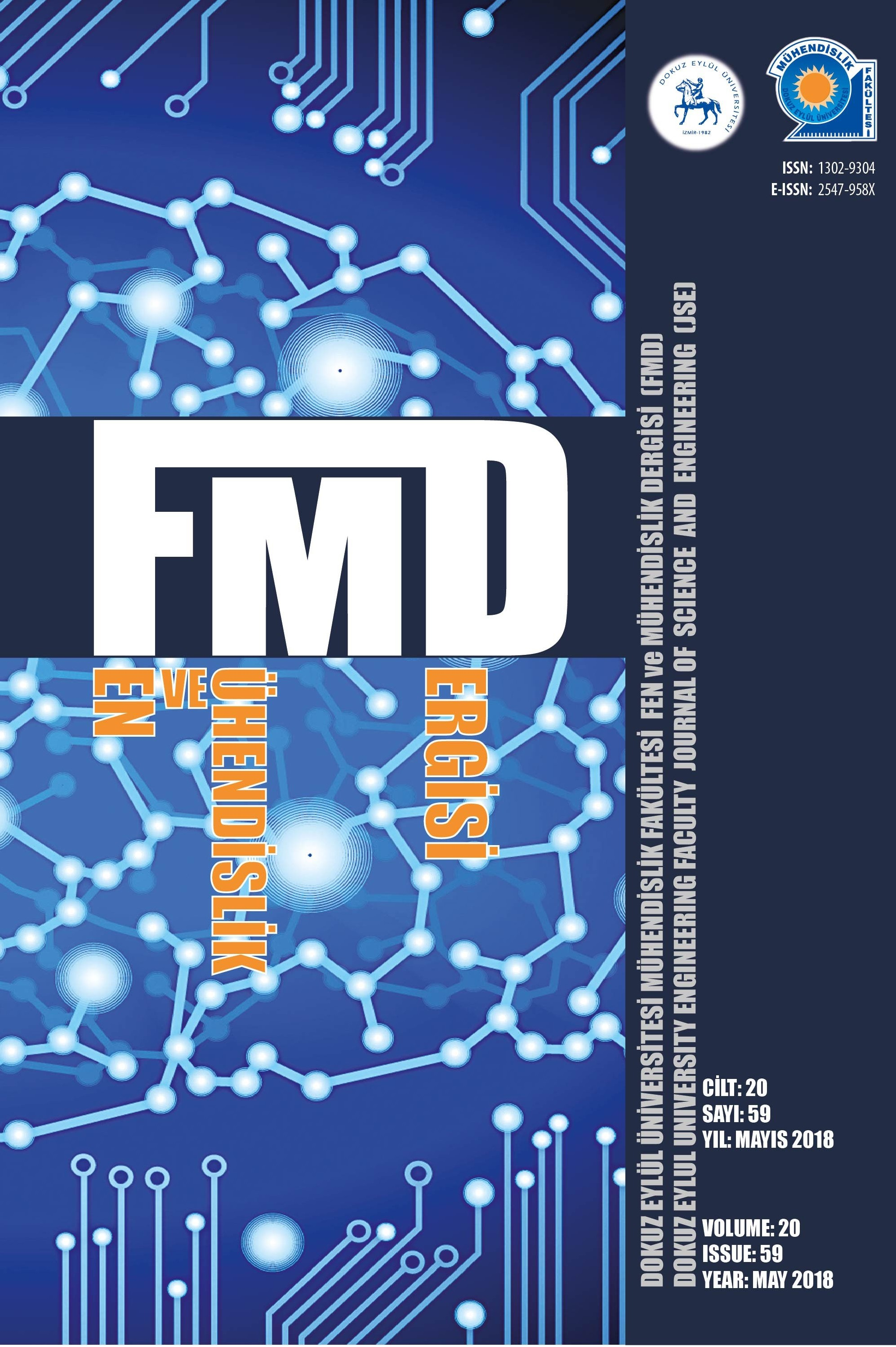 Dokuz Eylül Üniversitesi Mühendislik Fakültesi Fen ve Mühendislik Dergisi